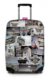ROUTE 66 SUITCASE COVER